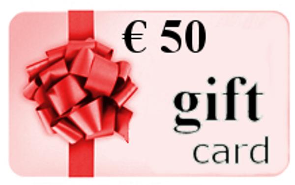 Immagine di Buono Regalo € 50