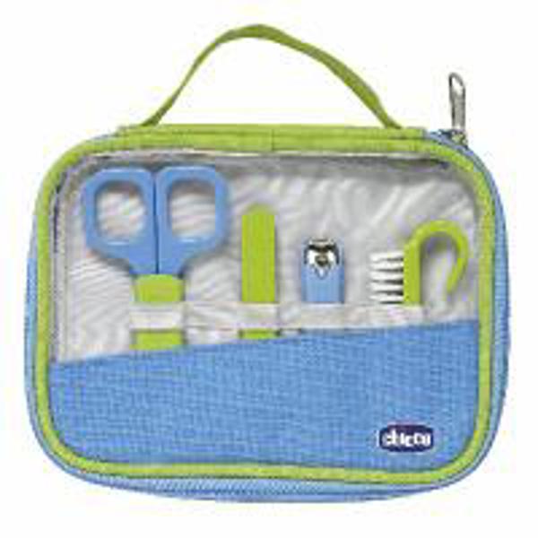 Immagine di Set Igiene Happy Hands Azzurro/Verde