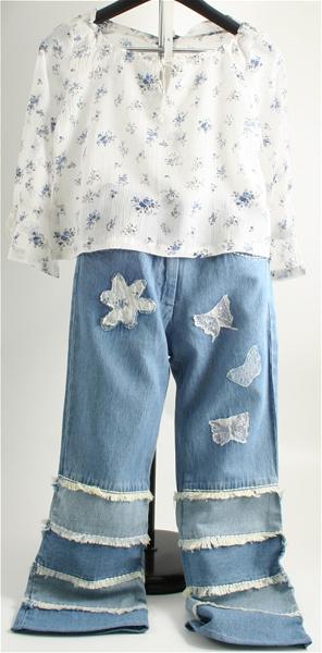 Immagine di Completo jeans da ragazza