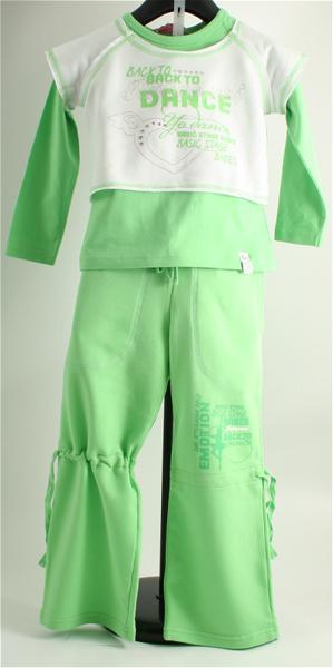 Immagine di Tuta jogging bimba verde