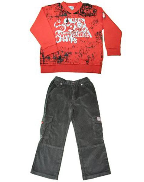 Immagine di Completo Pantaloni Asfalto da bimbo