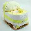 Immagine di Torta di Pannolini Carrozzina Gialla