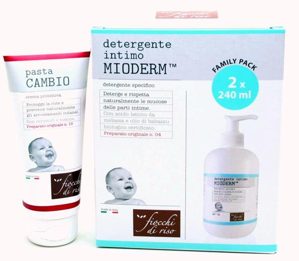 Immagine di 2 Detergente Intimo MioDerm + 1 Pasta Cambio
